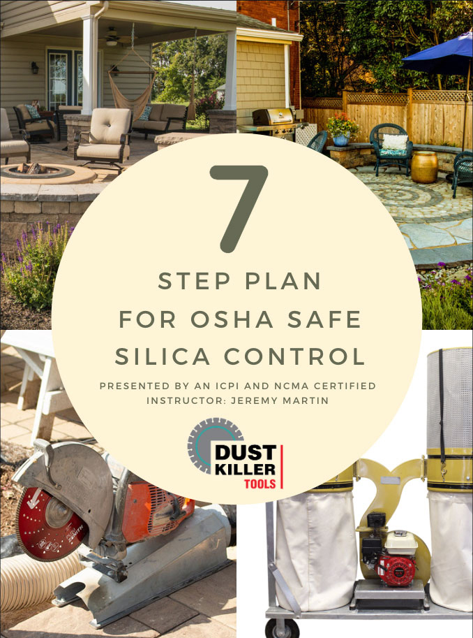 7 step for silica dust control plan