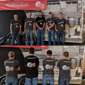 dust killer tools crew