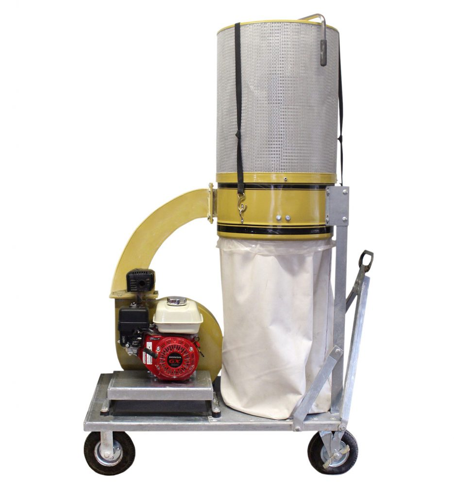 portable silica dust collection system