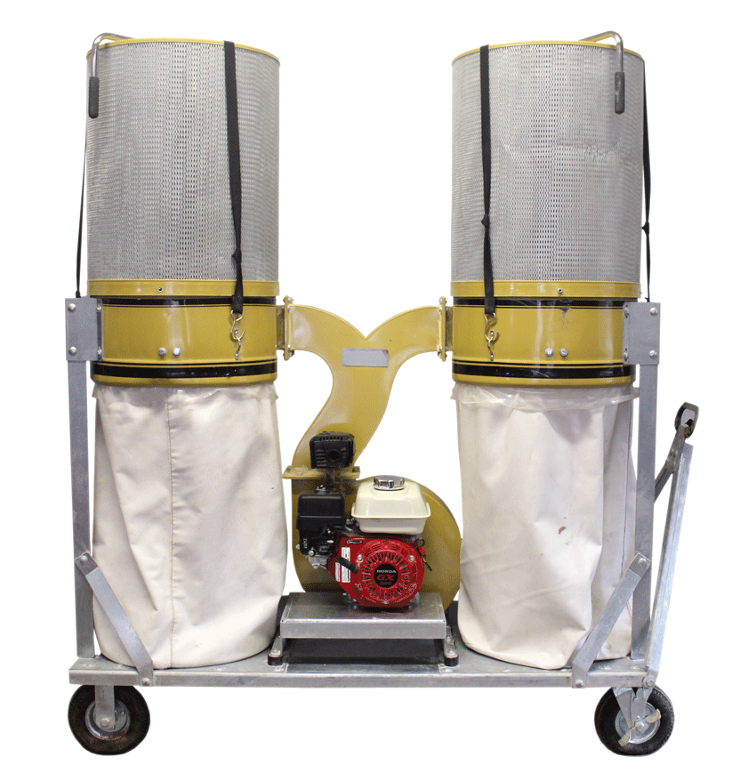 silica dust collection system