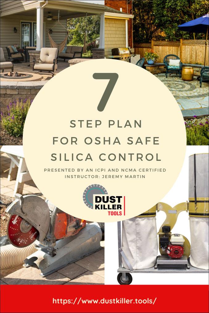 7 step silica dust control plan